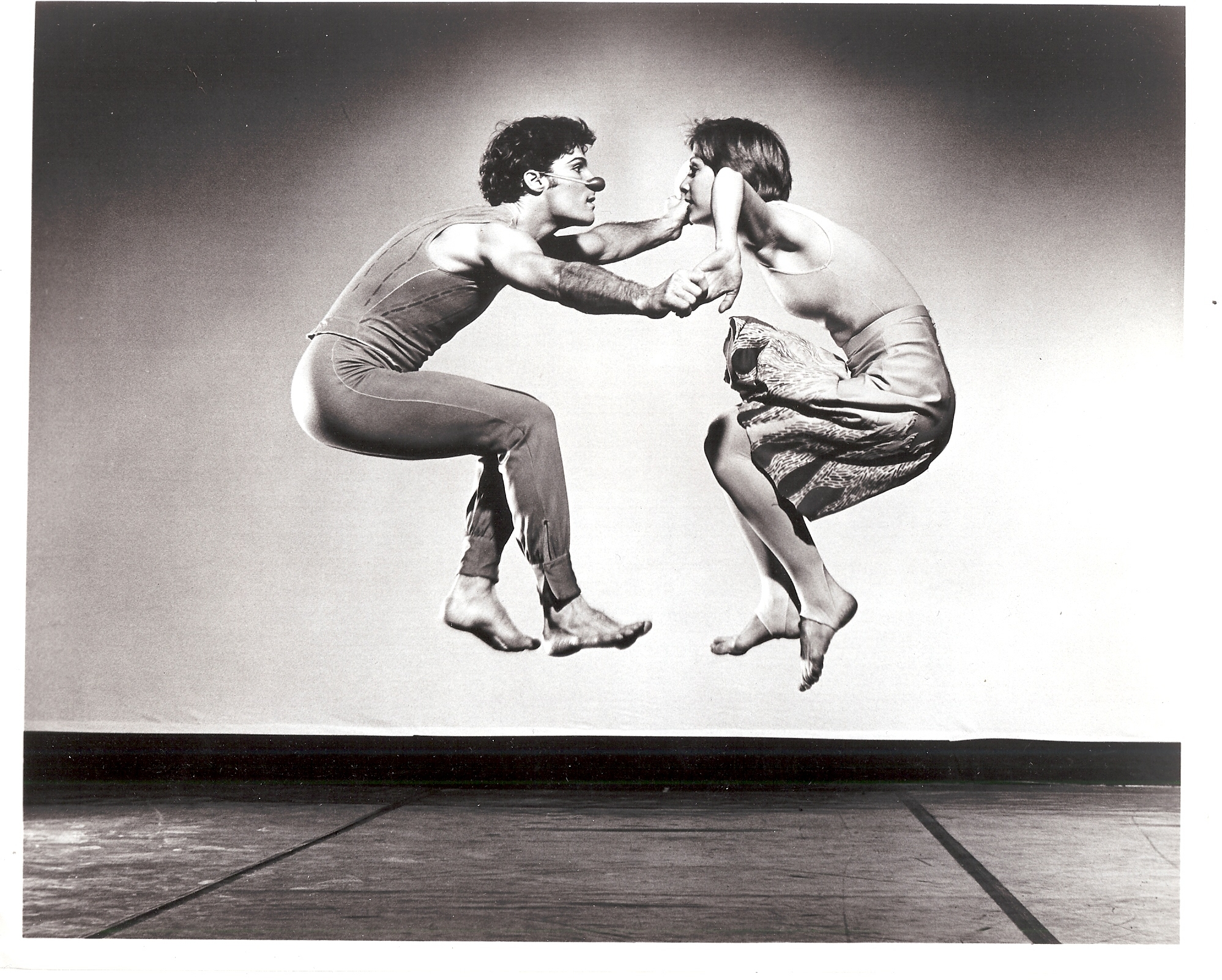 Girl on Fire, Photo by Jack Mitchell. Dancers: Susan Weber and Lar Lubovitch.