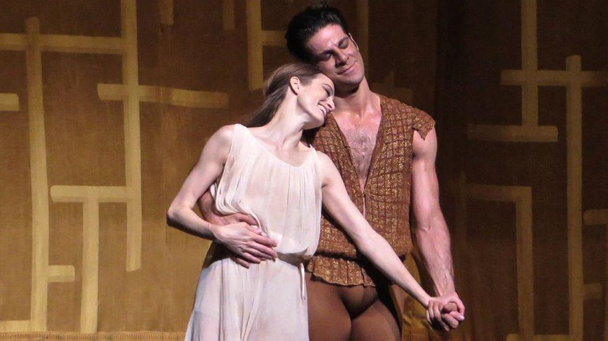 Othello. Dancers: Gomes and Kent.